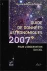 Guide des données astronomiques 2007
