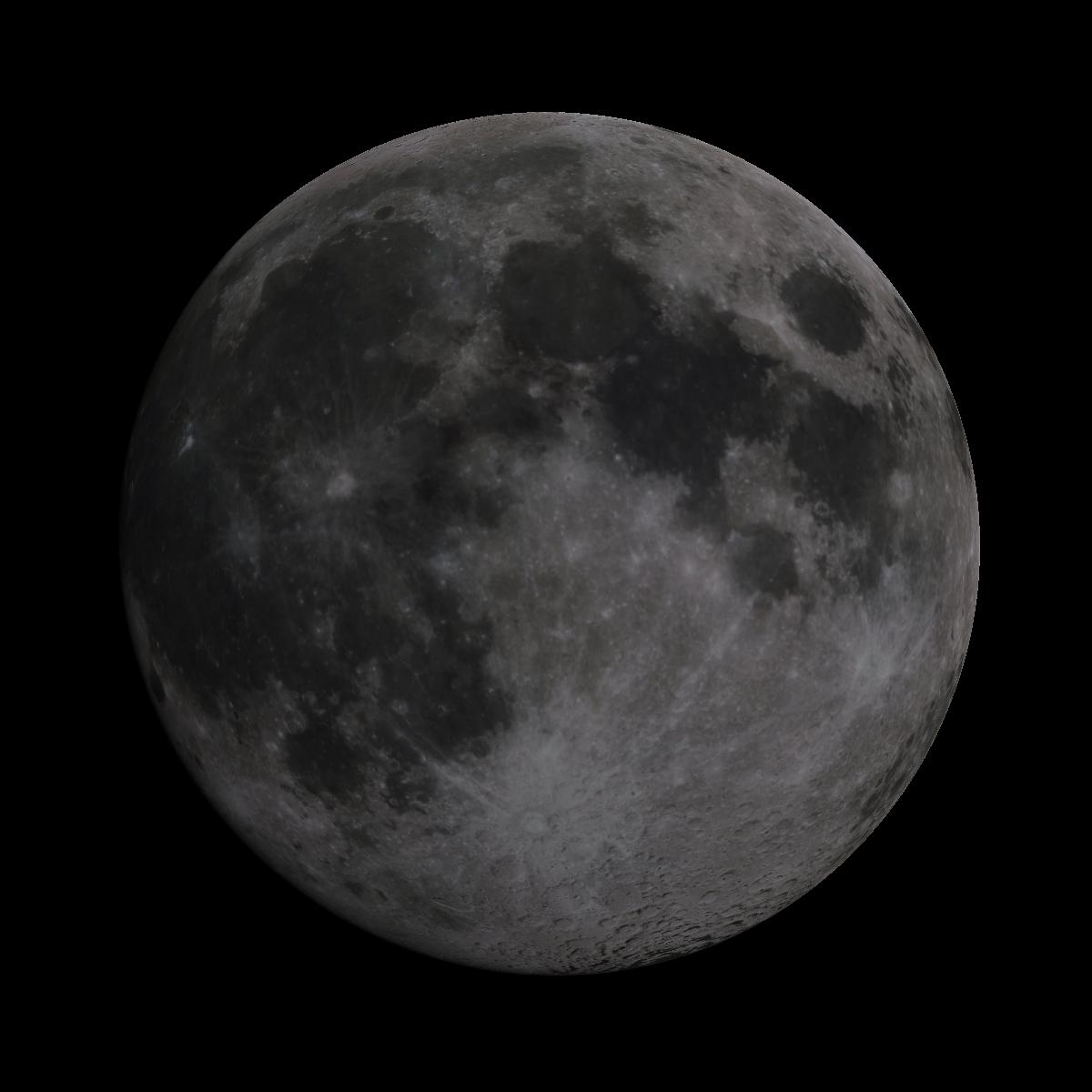 Lune du 18 mai 2019