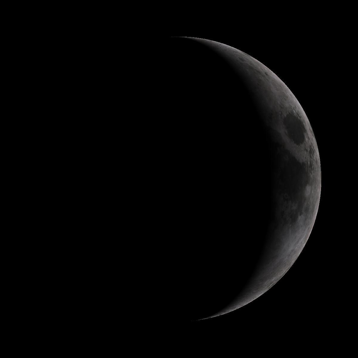 Lune du 9 mai 2019