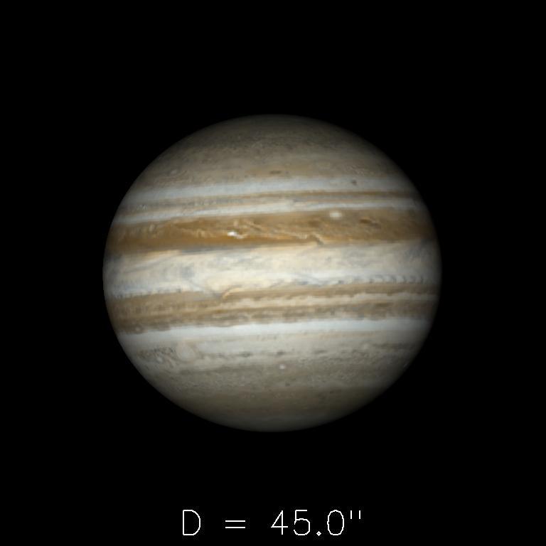 Jupiter le 16 mai 2019