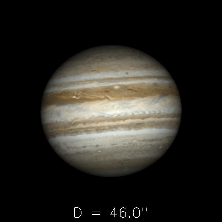 Jupiter le 16juin 2019