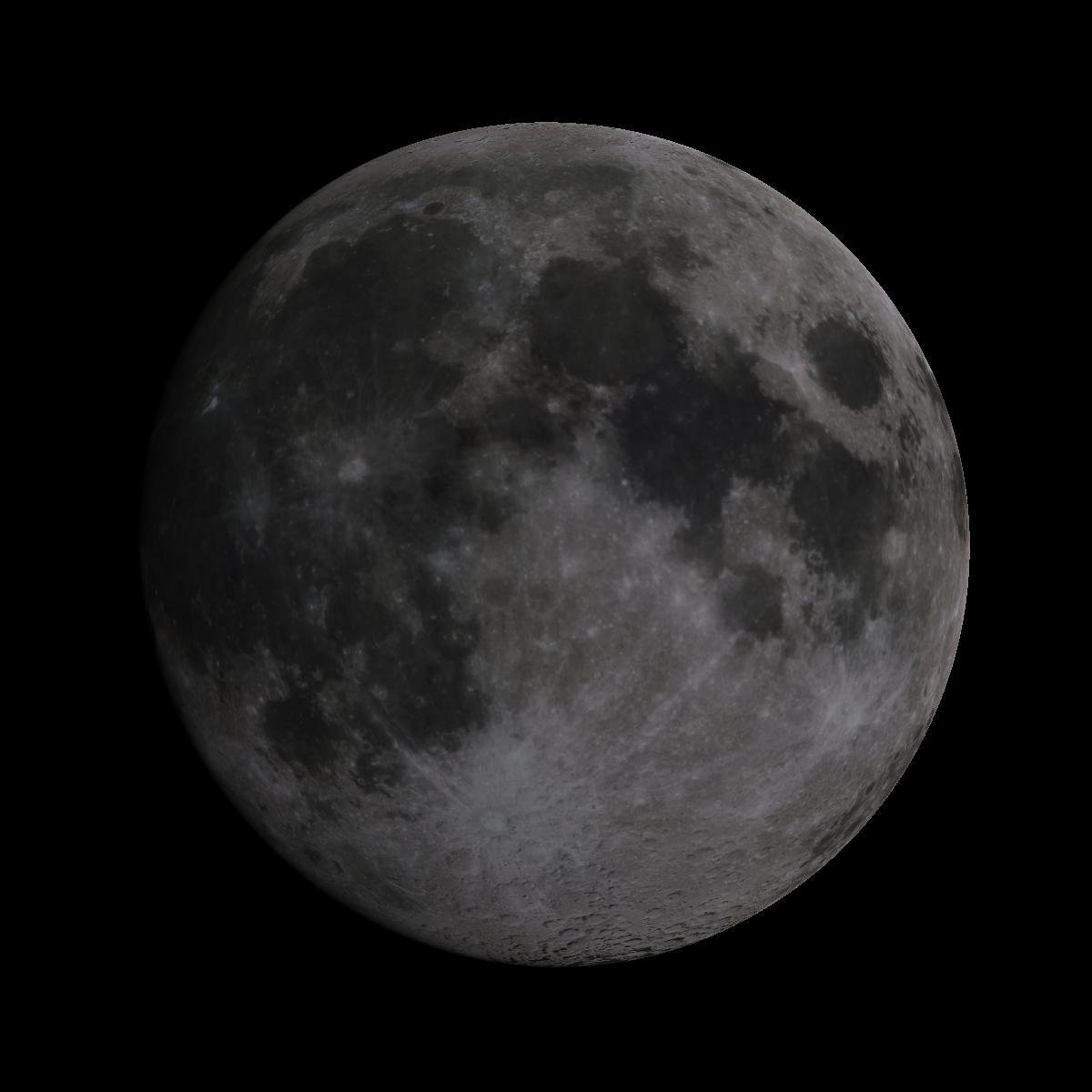 Lune du 16 juin 2019