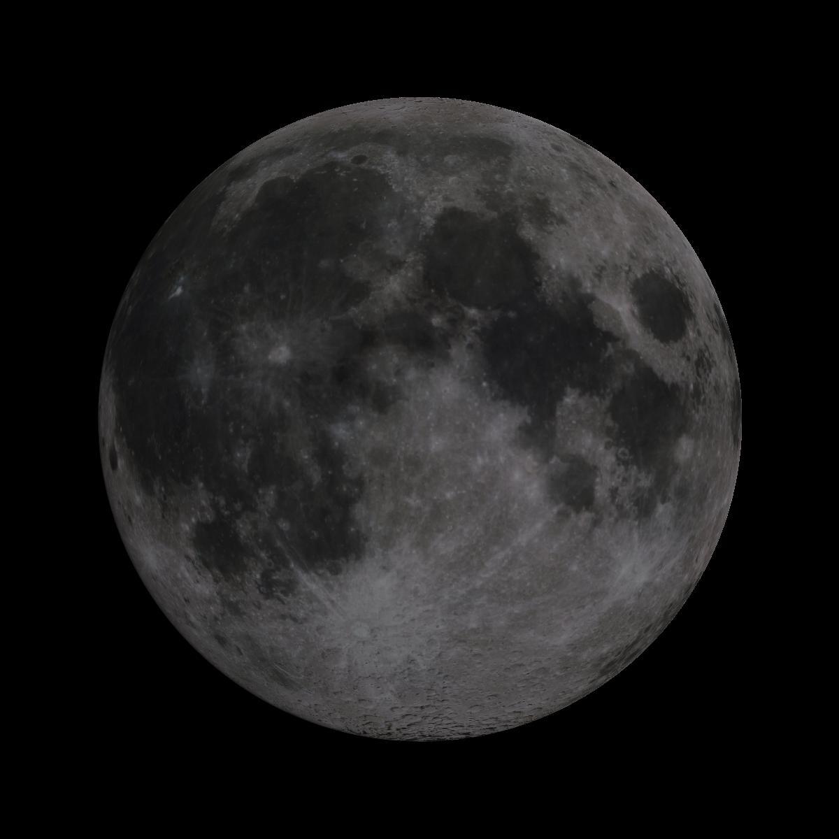 Lune du 17 juin 2019