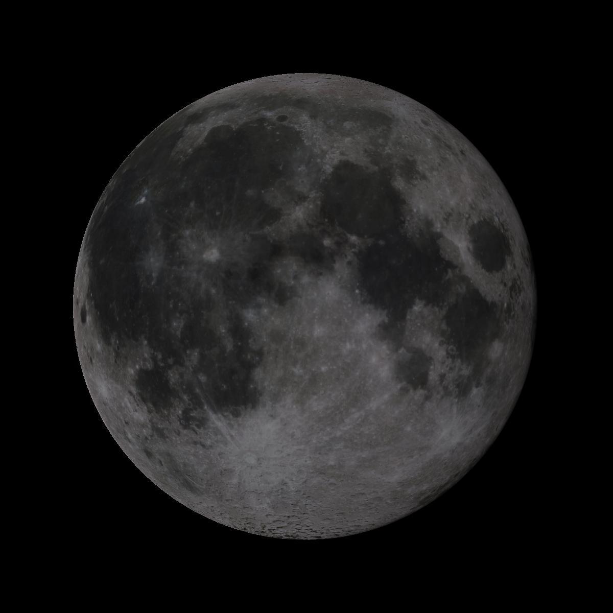 Lune du 18 juin 2019