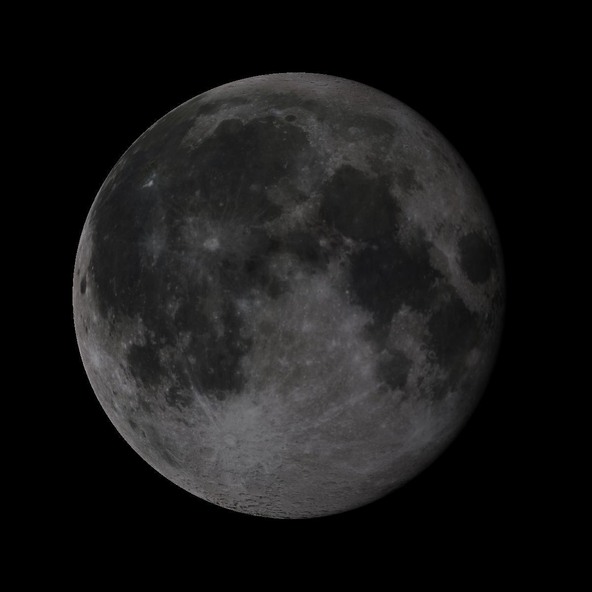 Lune du 19 juin 2019