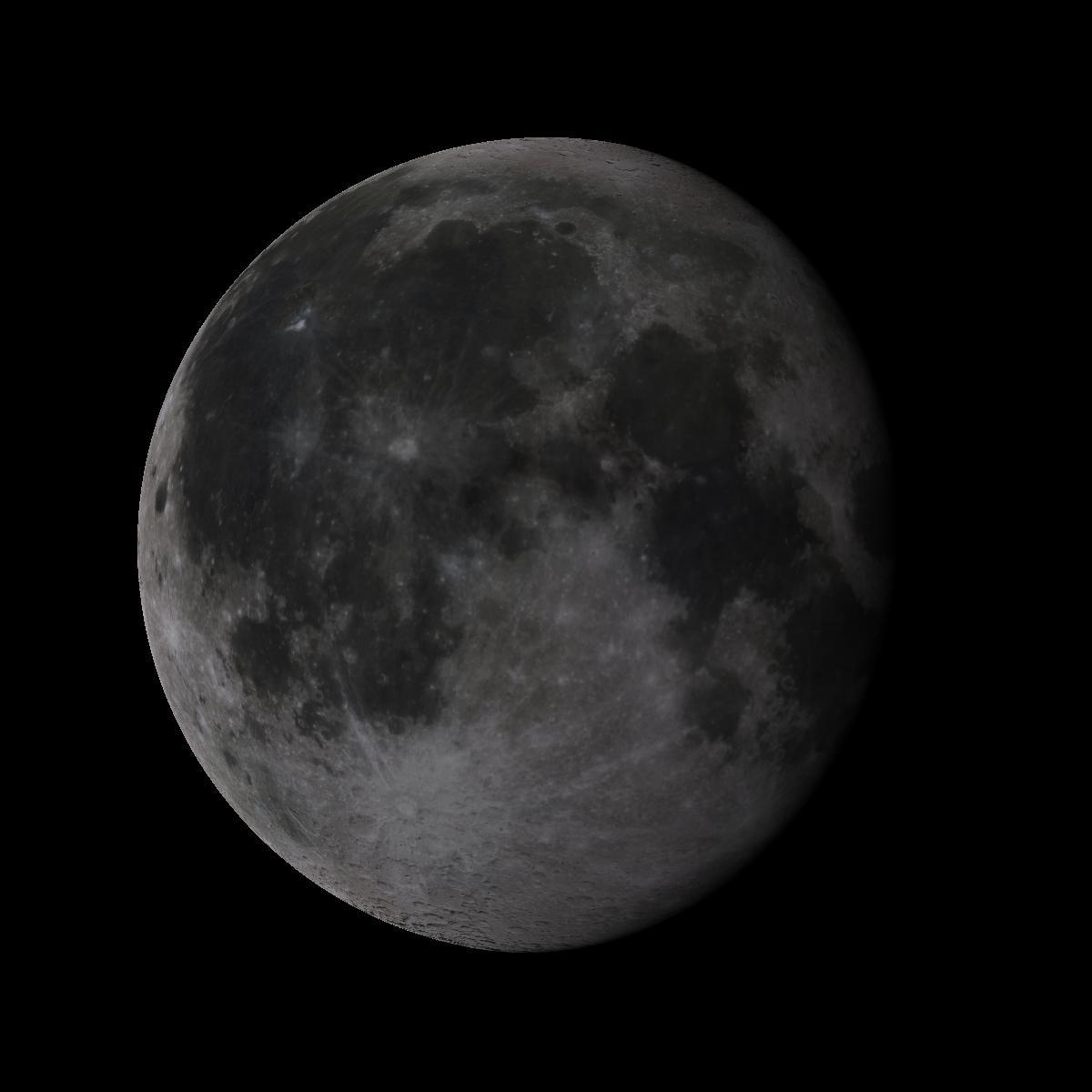 Lune du 20 juin 2019