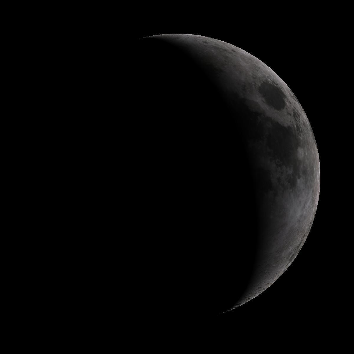 Lune du 8 juin 2019