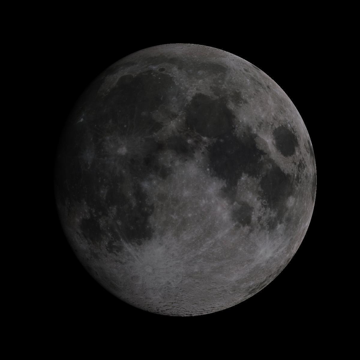 Lune du 15 juillet 2019
