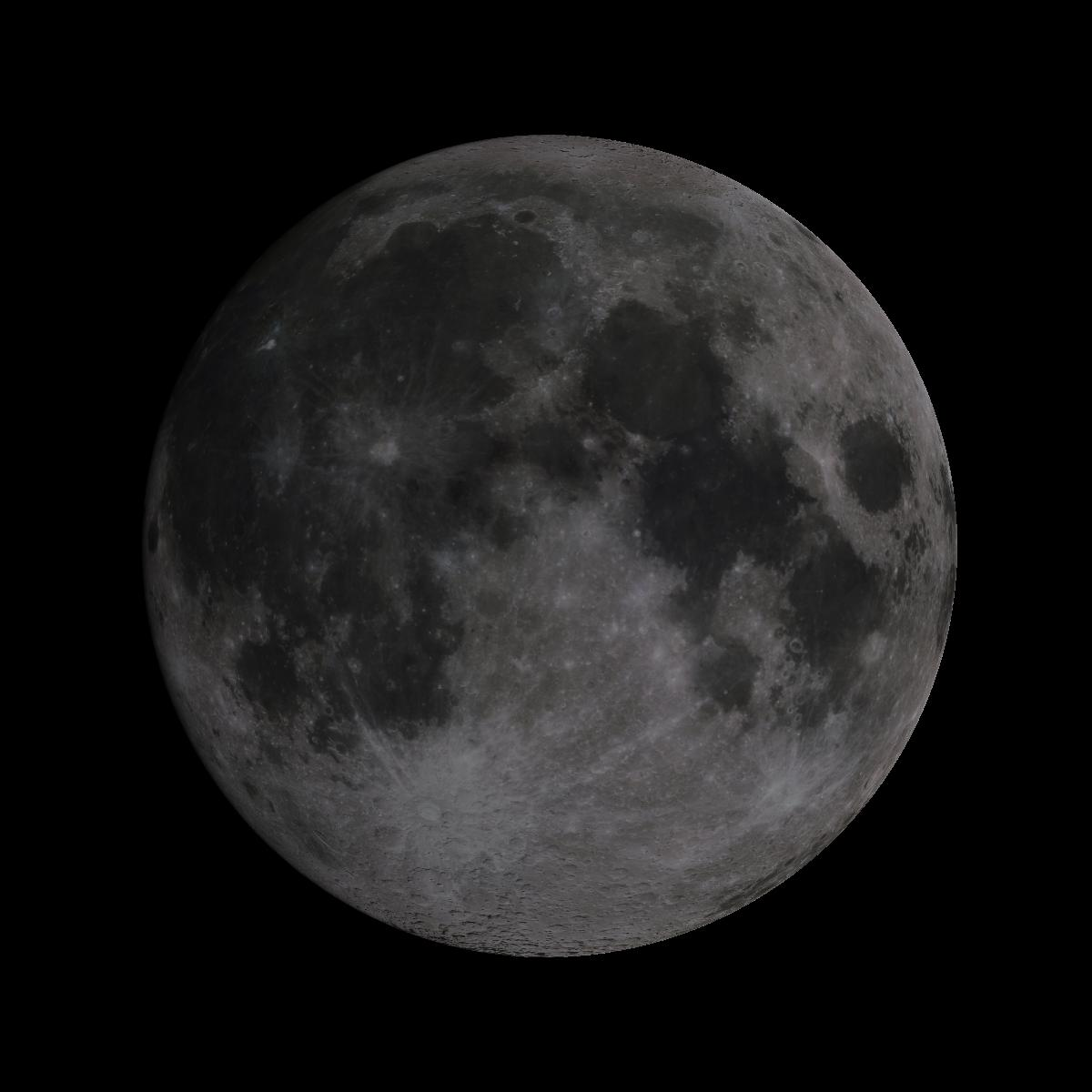 Lune du 16 juillet 2019