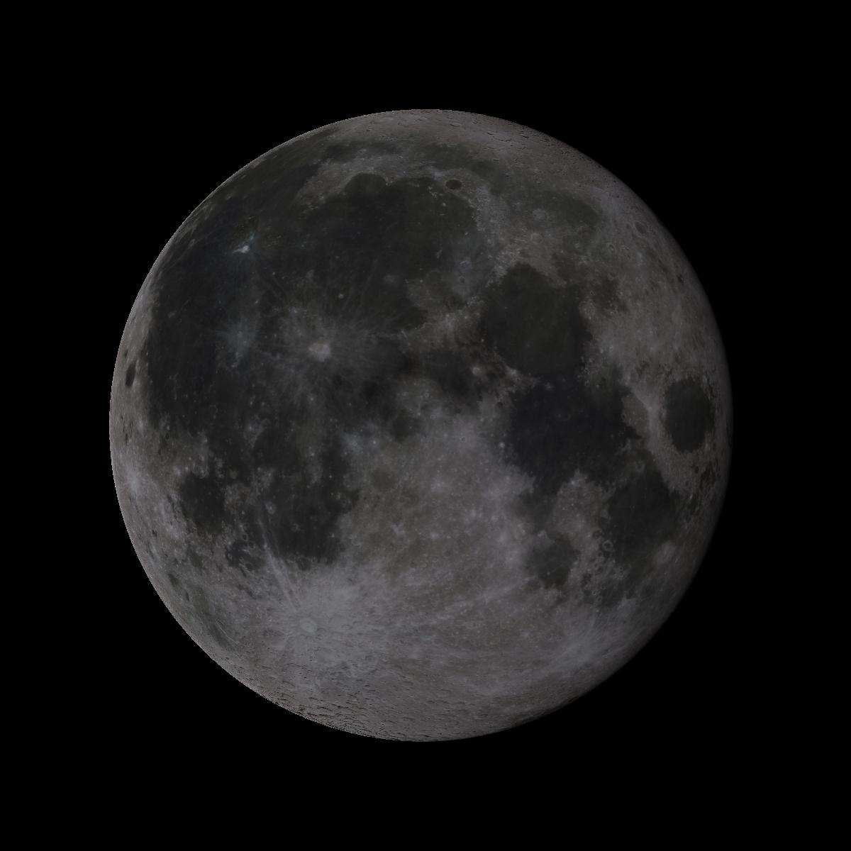 Lune du 18 juillet 2019
