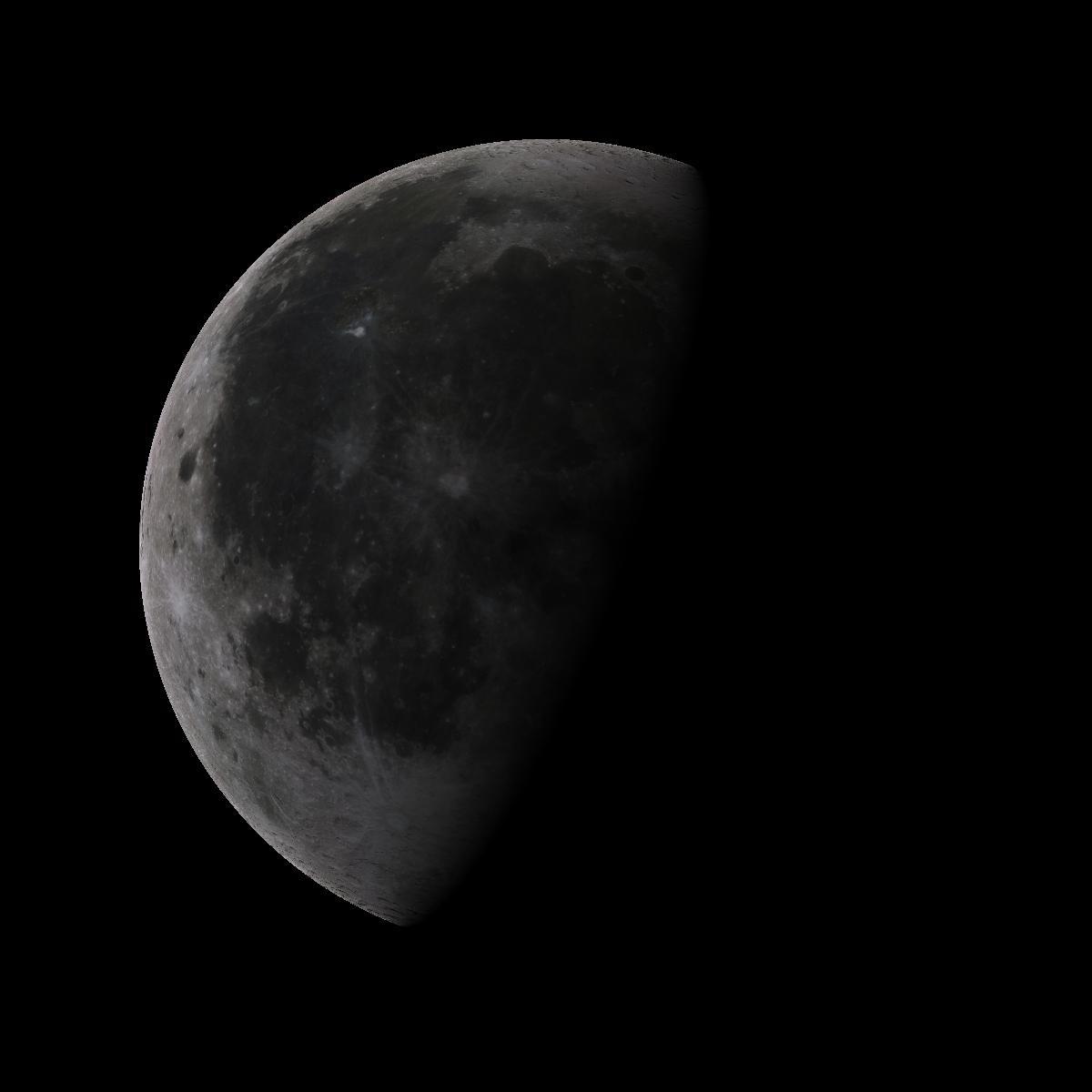 Lune du 24 juillet 2019