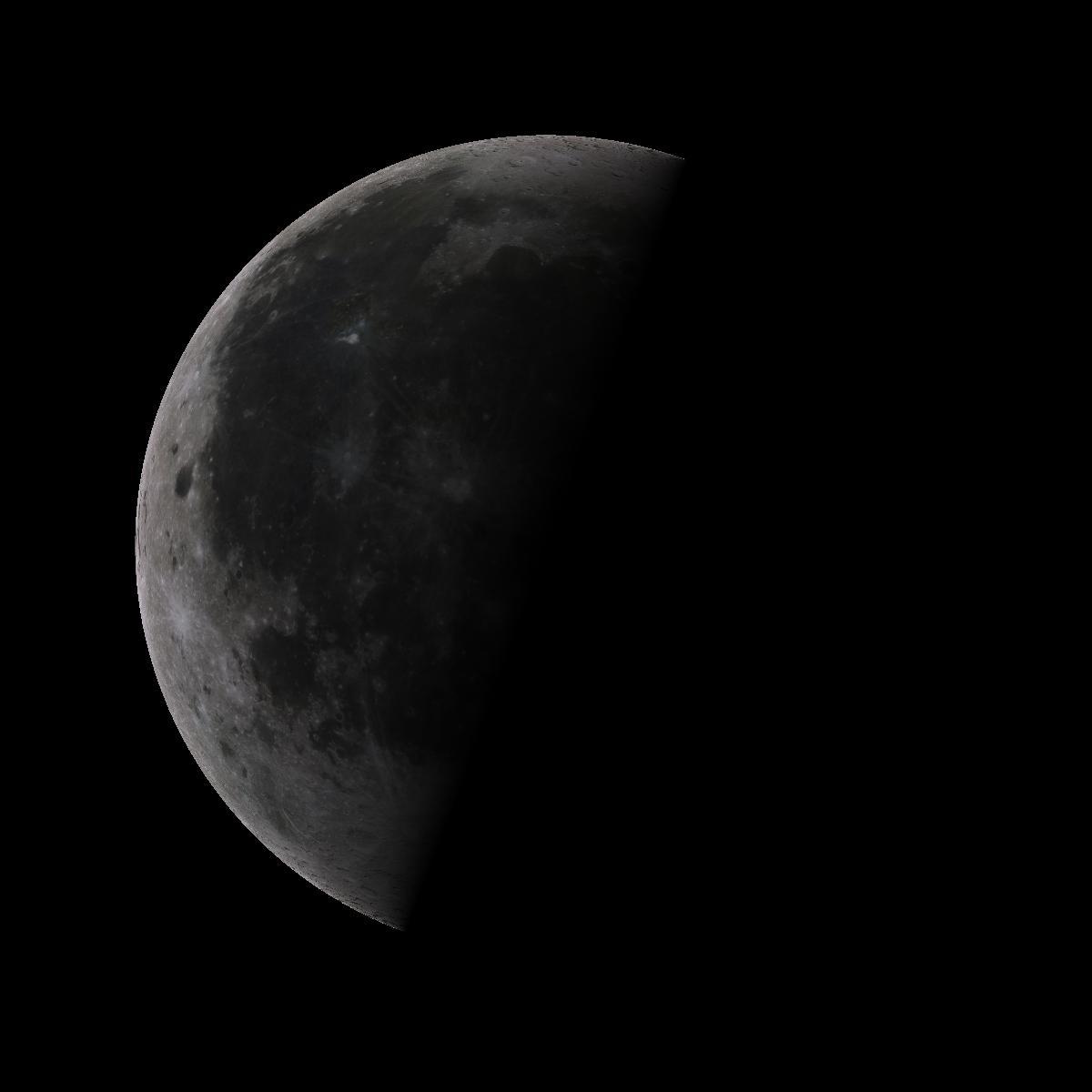 Lune du 25 juillet 2019