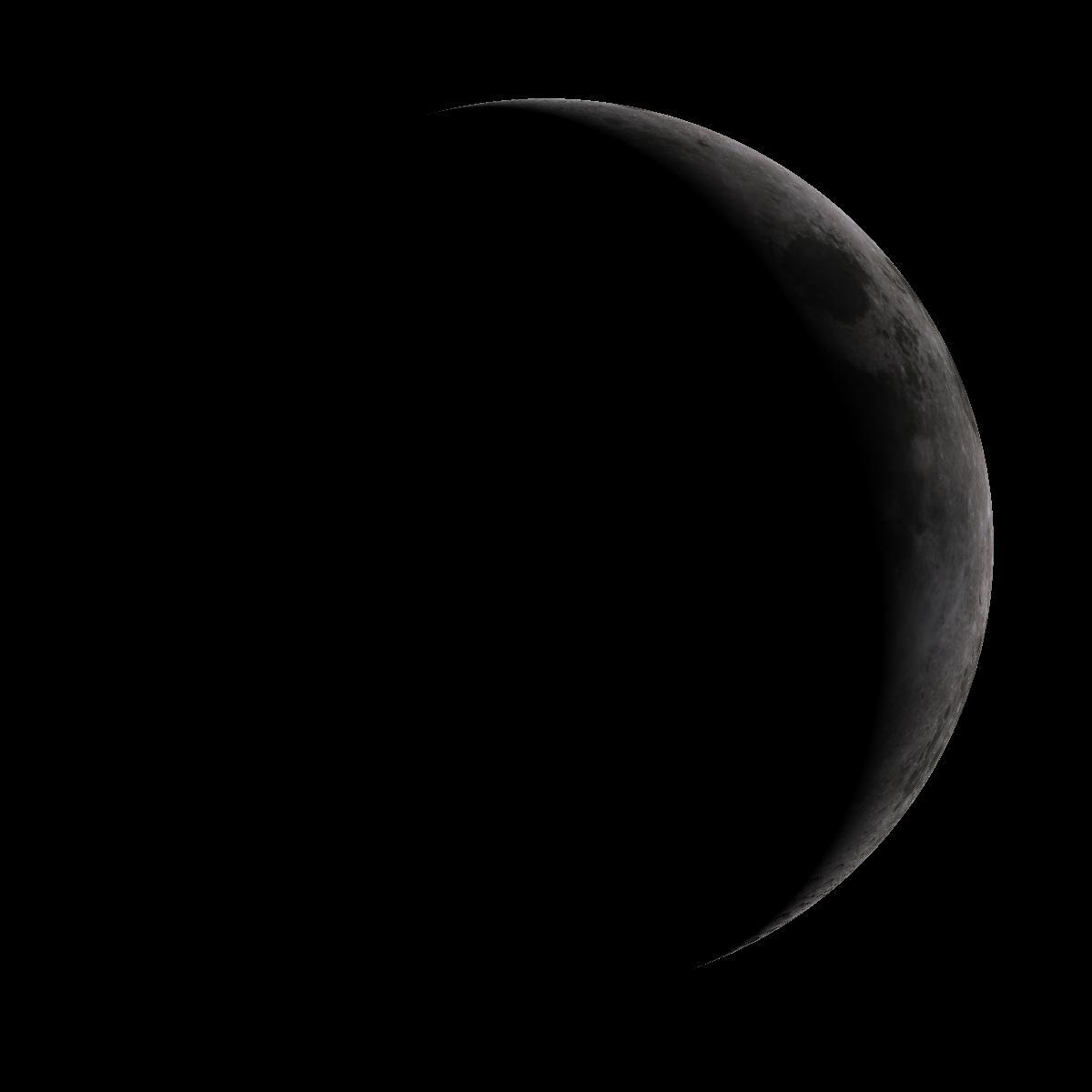 Lune du 6 juillet 2019