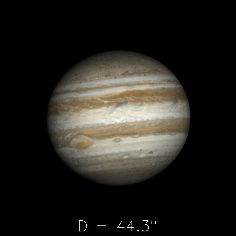 Jupiter le 16 juillet 2019