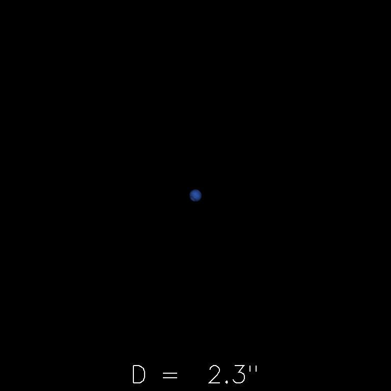 Neptune le 16 juillet 2019