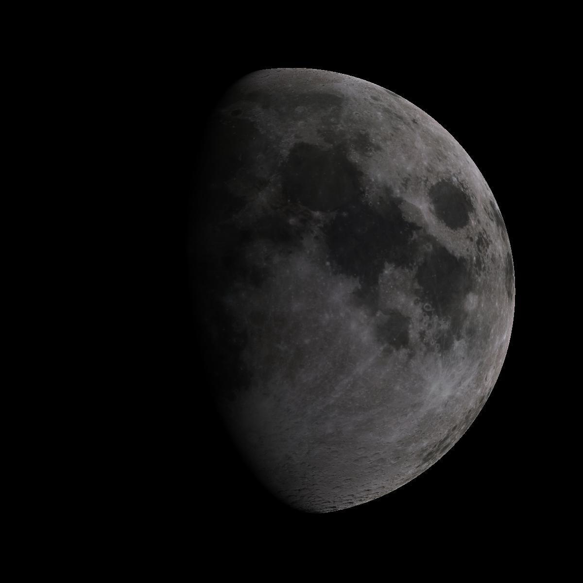 Lune du 10 aout 2019