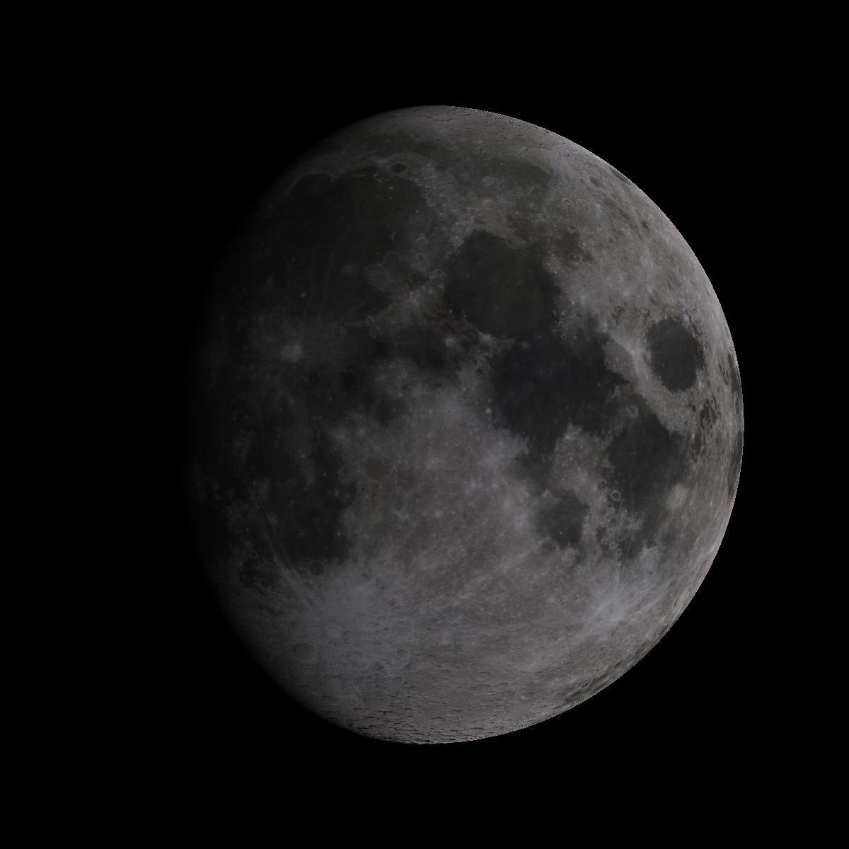 Lune du 12 aout 2019