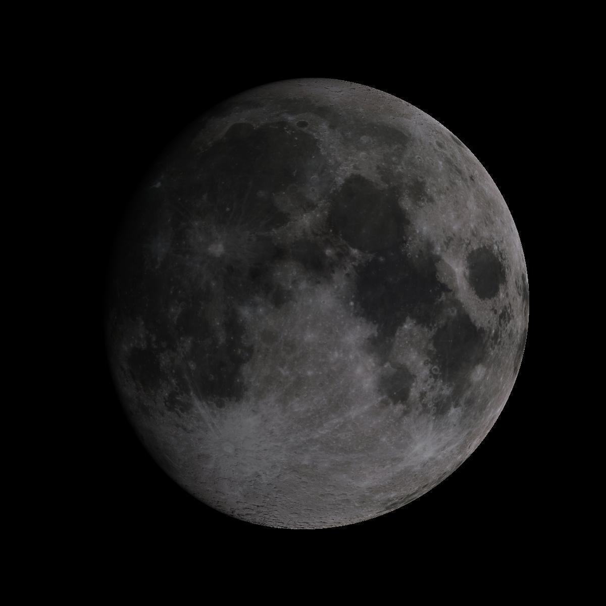 Lune du 13 aout 2019