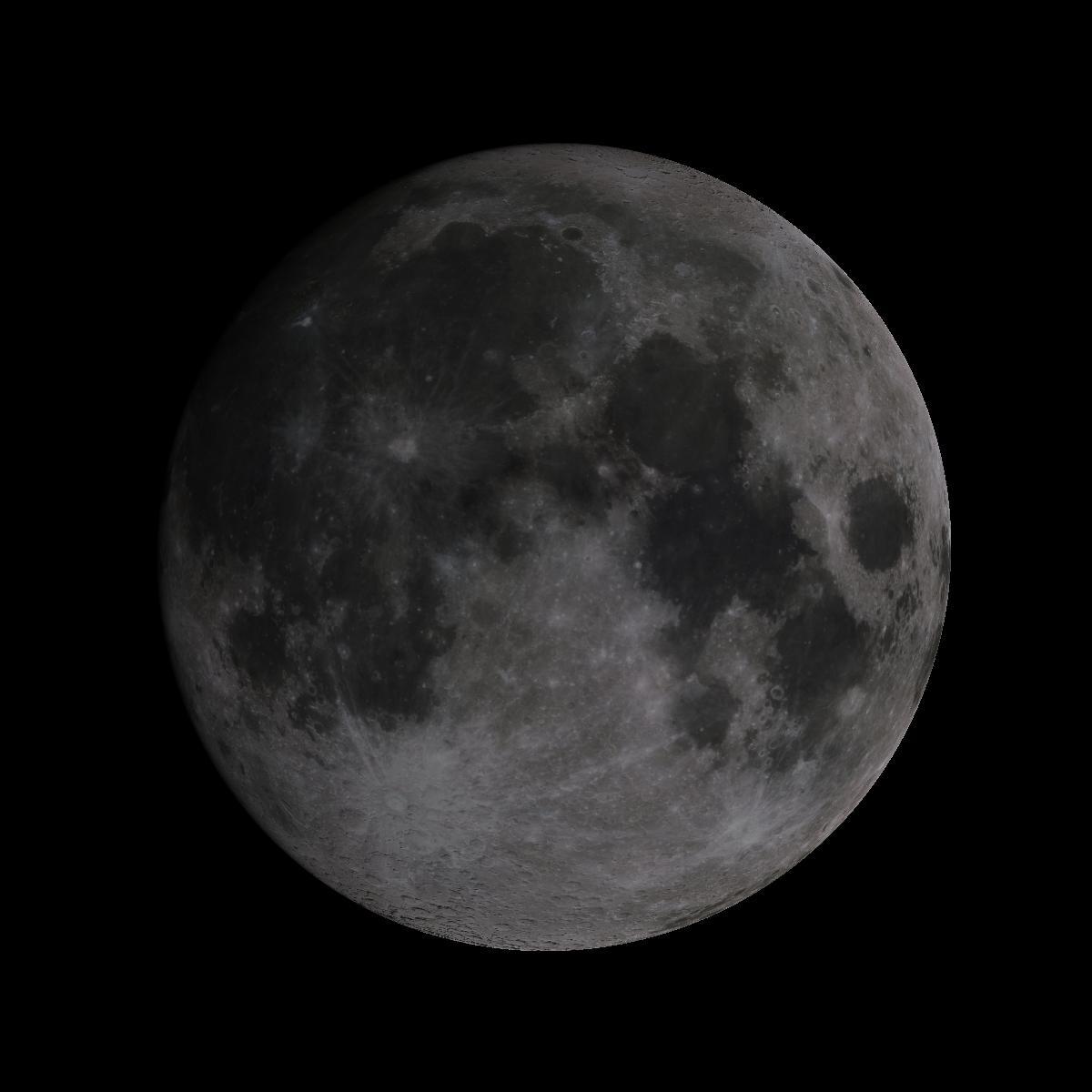 Lune du 14 aout 2019