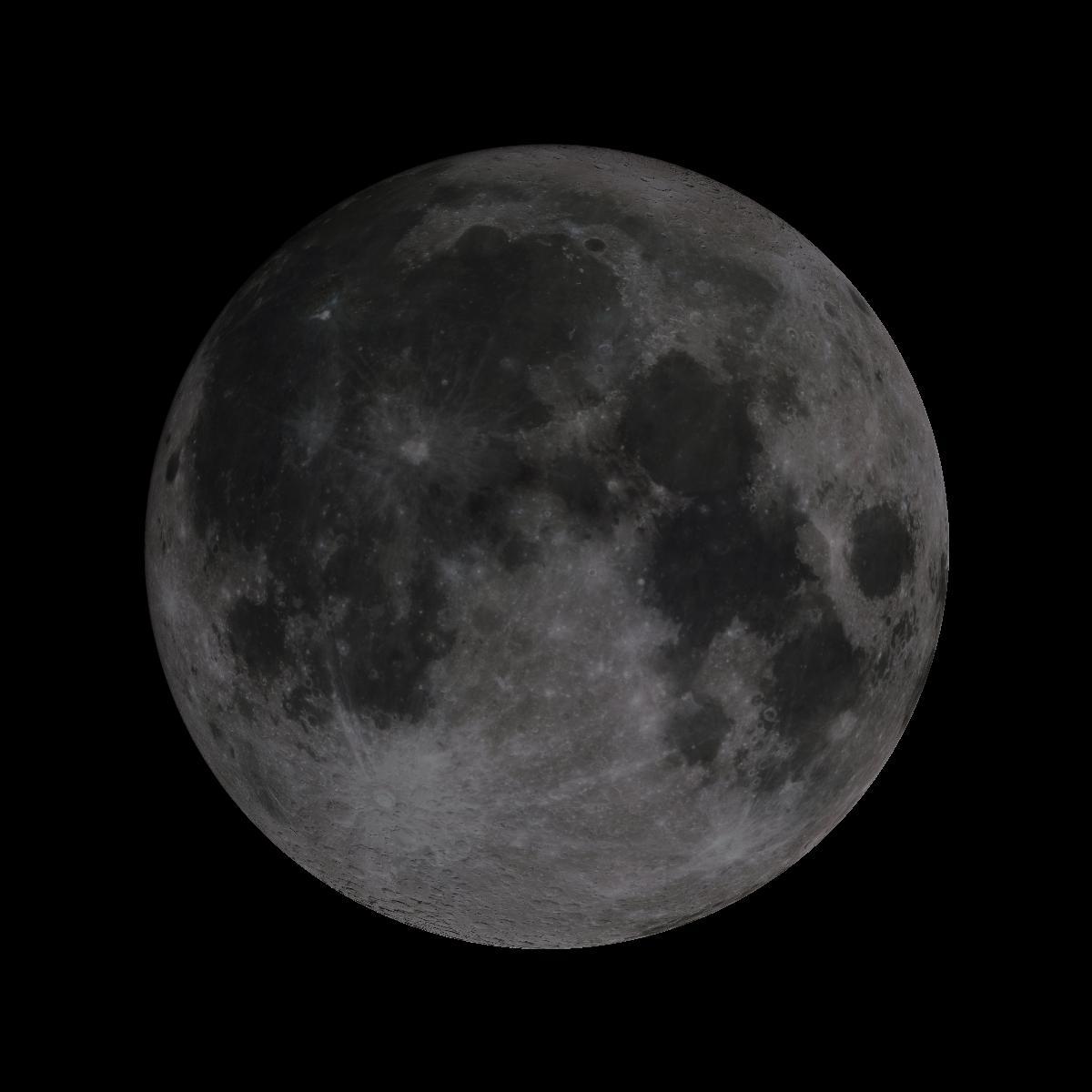 Lune du 15 aout 2019