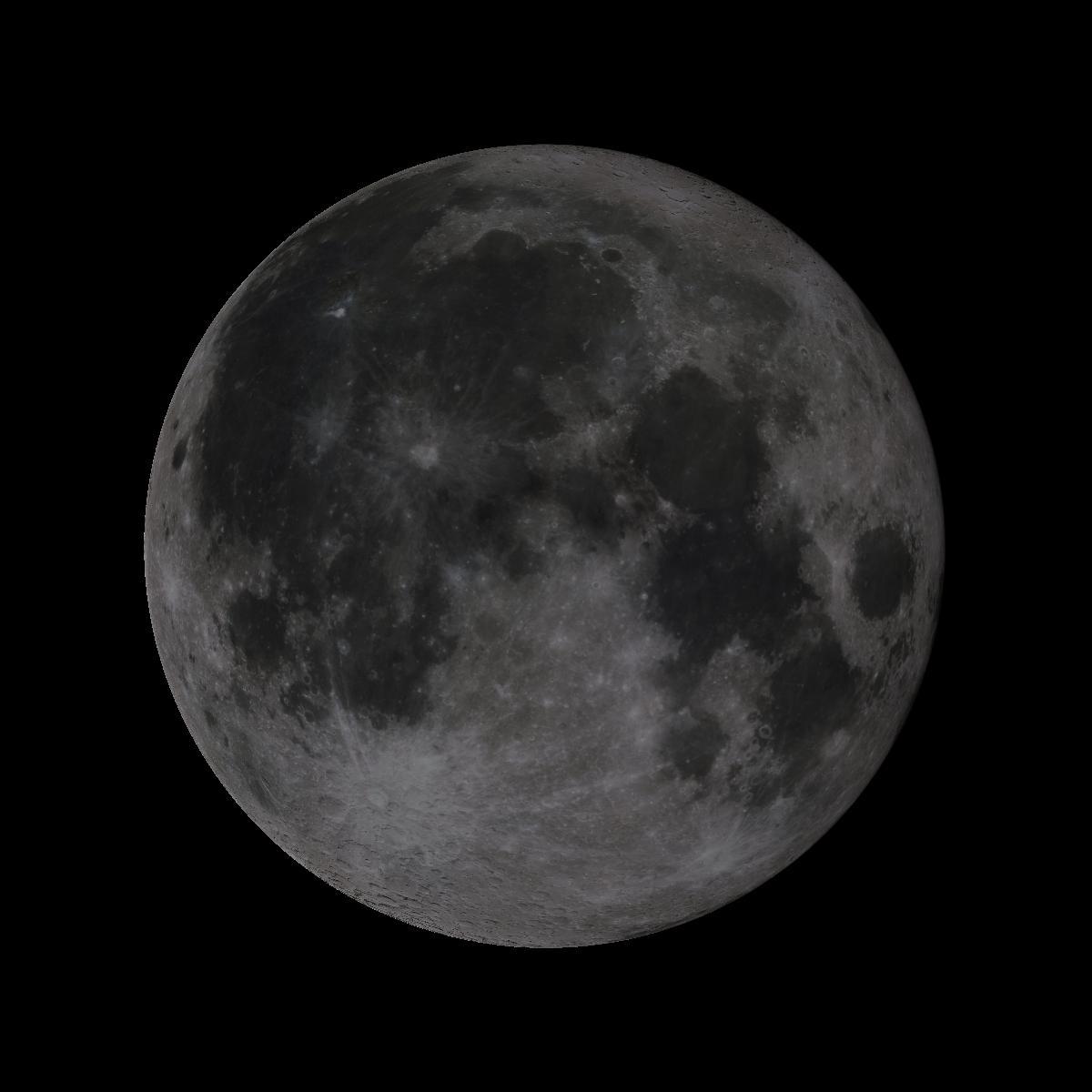 Lune du 16 aout 2019