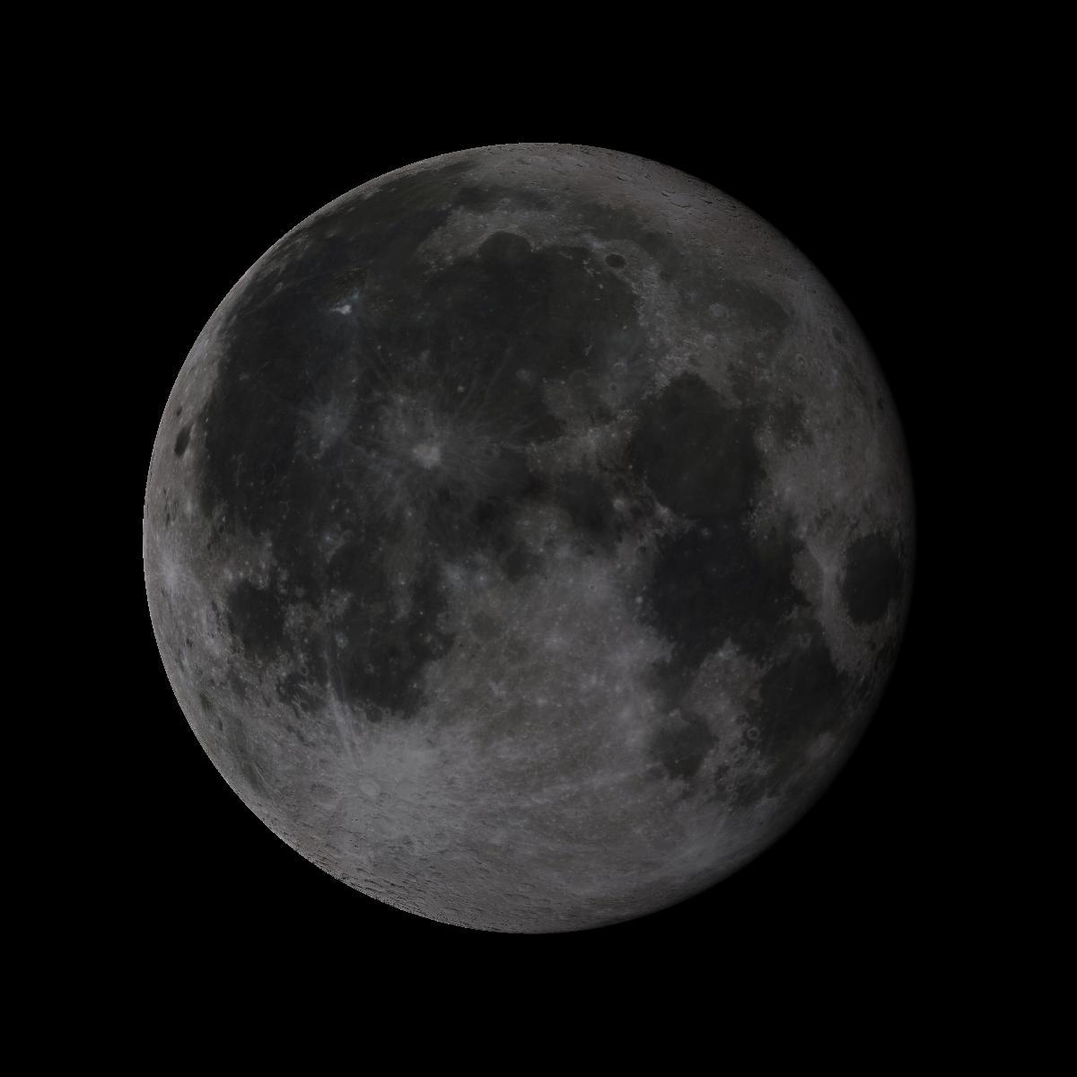 Lune du 17 aout 2019