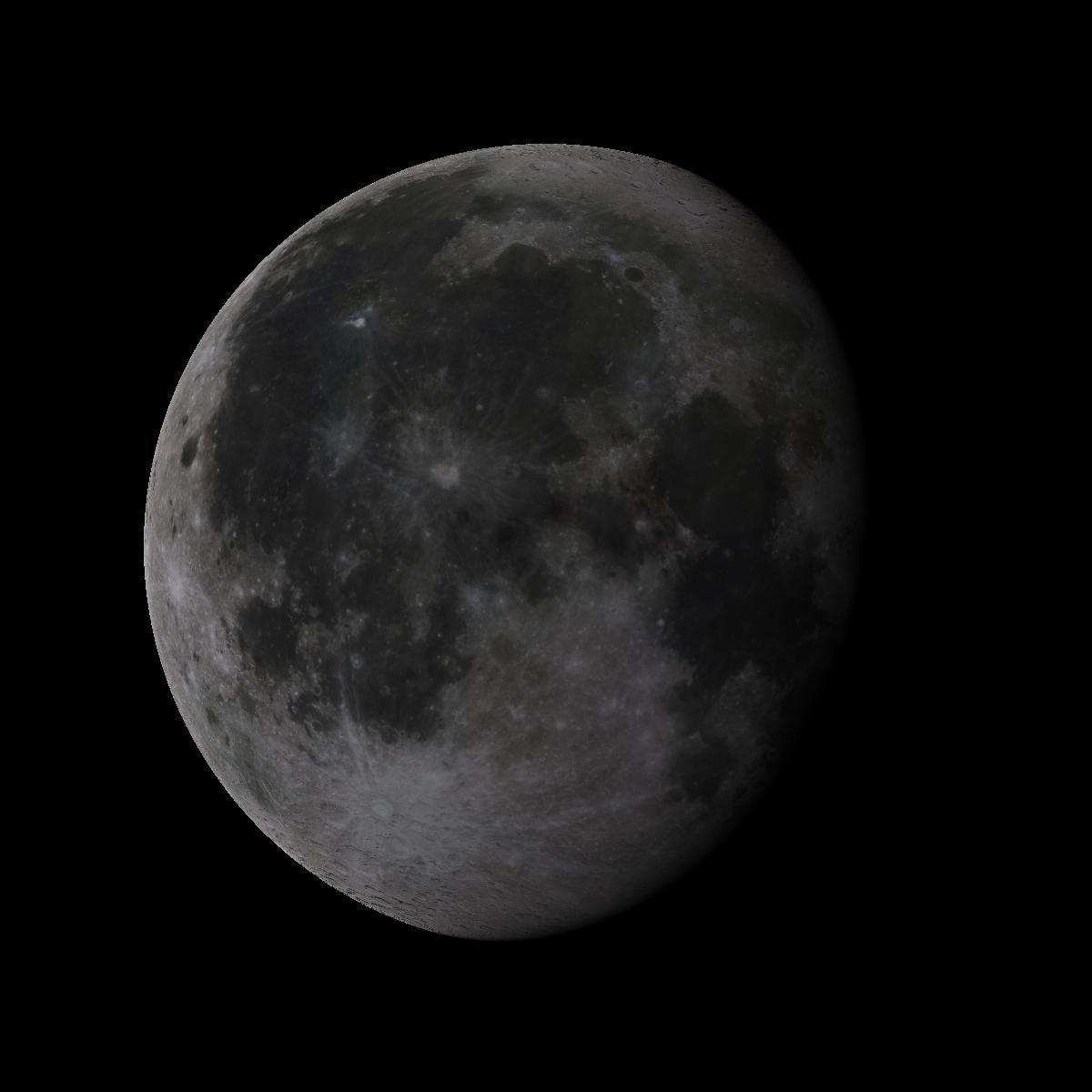 Lune du 19 aout 2019