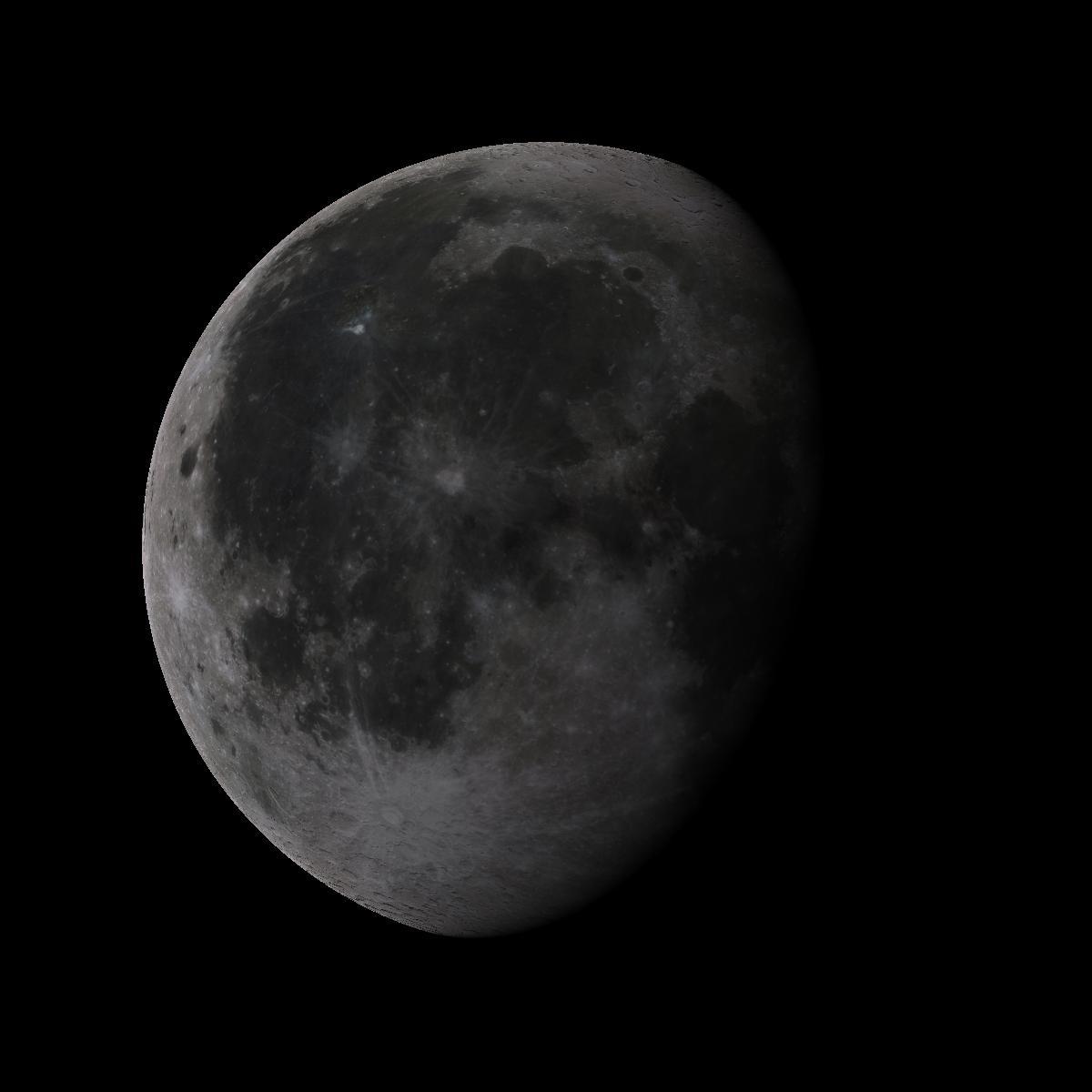 Lune du 20 aout 2019