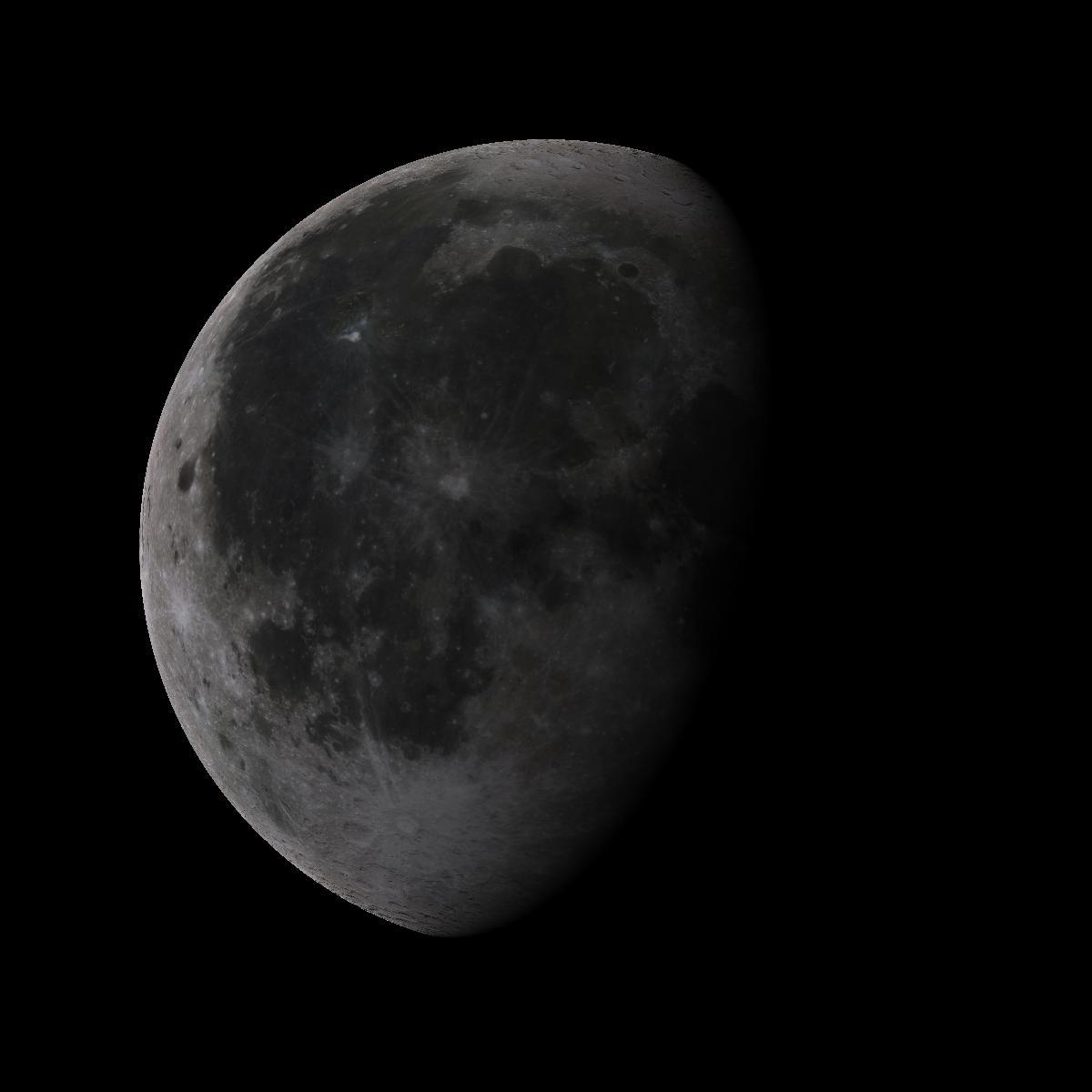 Lune du 21 aout 2019