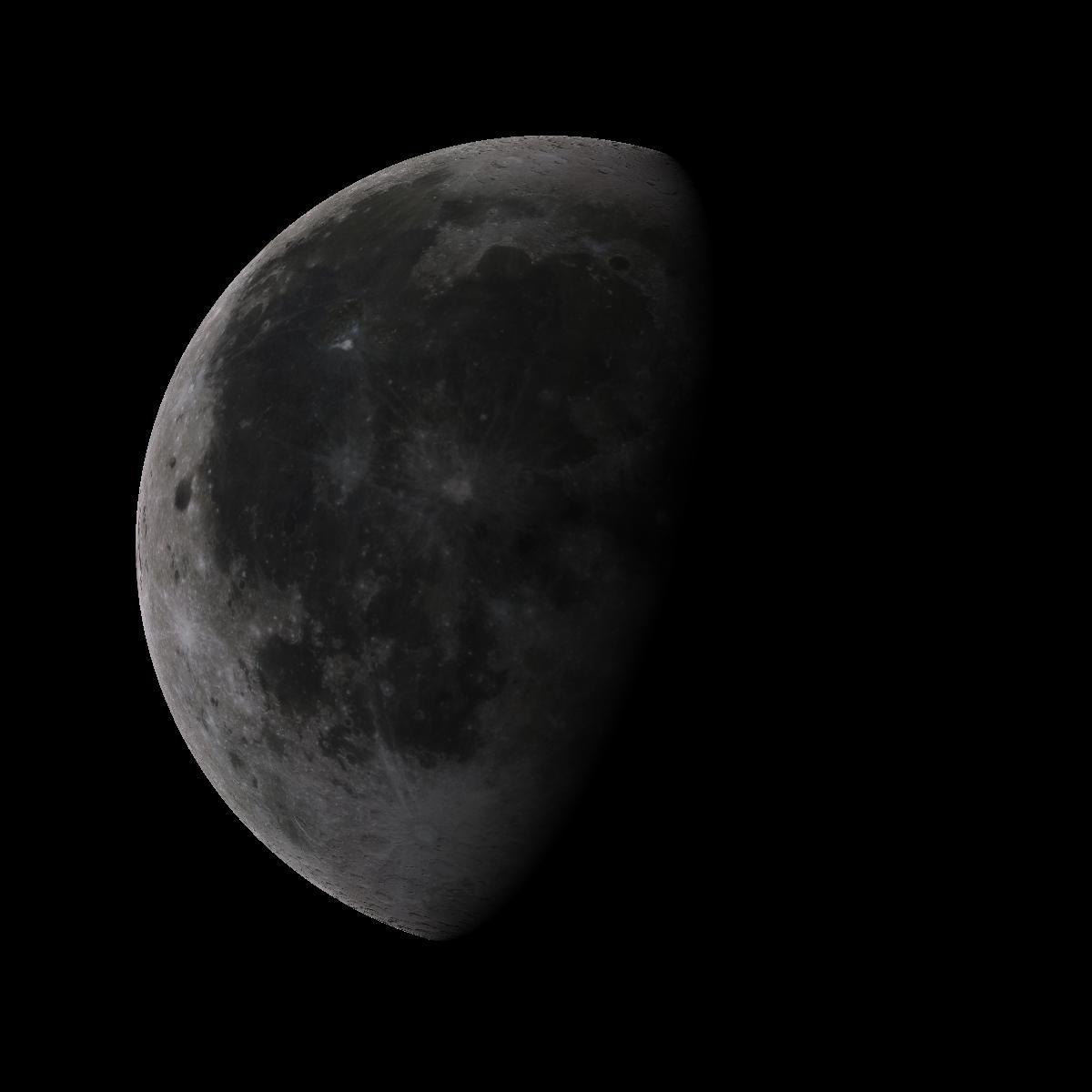 Lune du 22 aout 2019