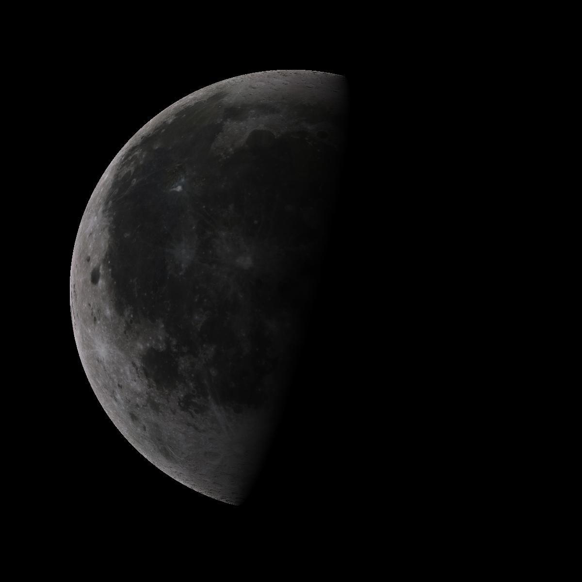 Lune du 23 aout 2019