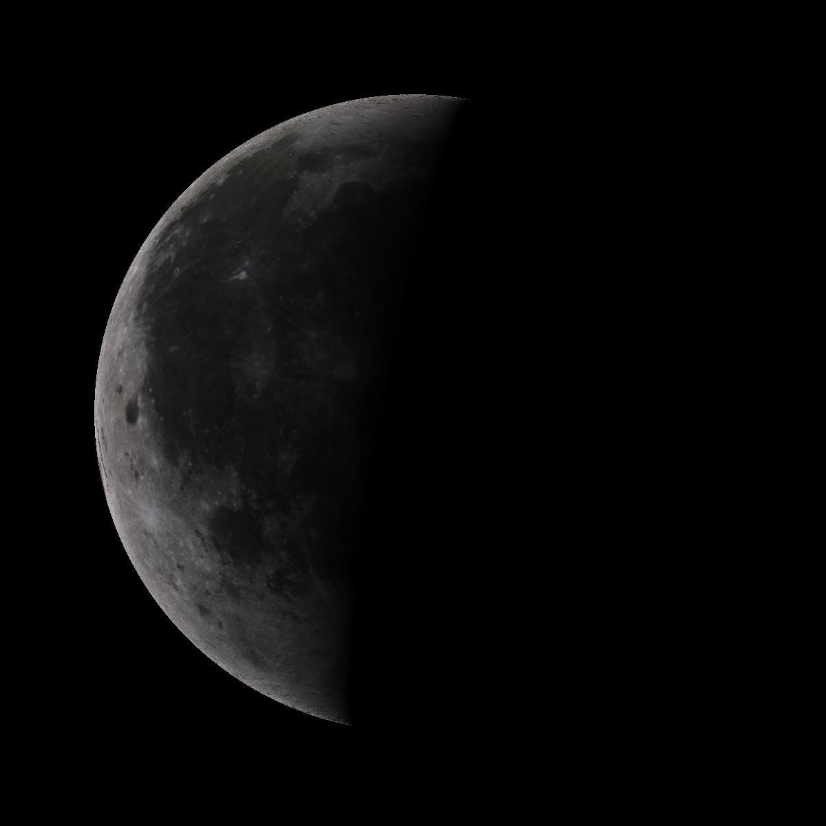 Lune du 24 aout 2019