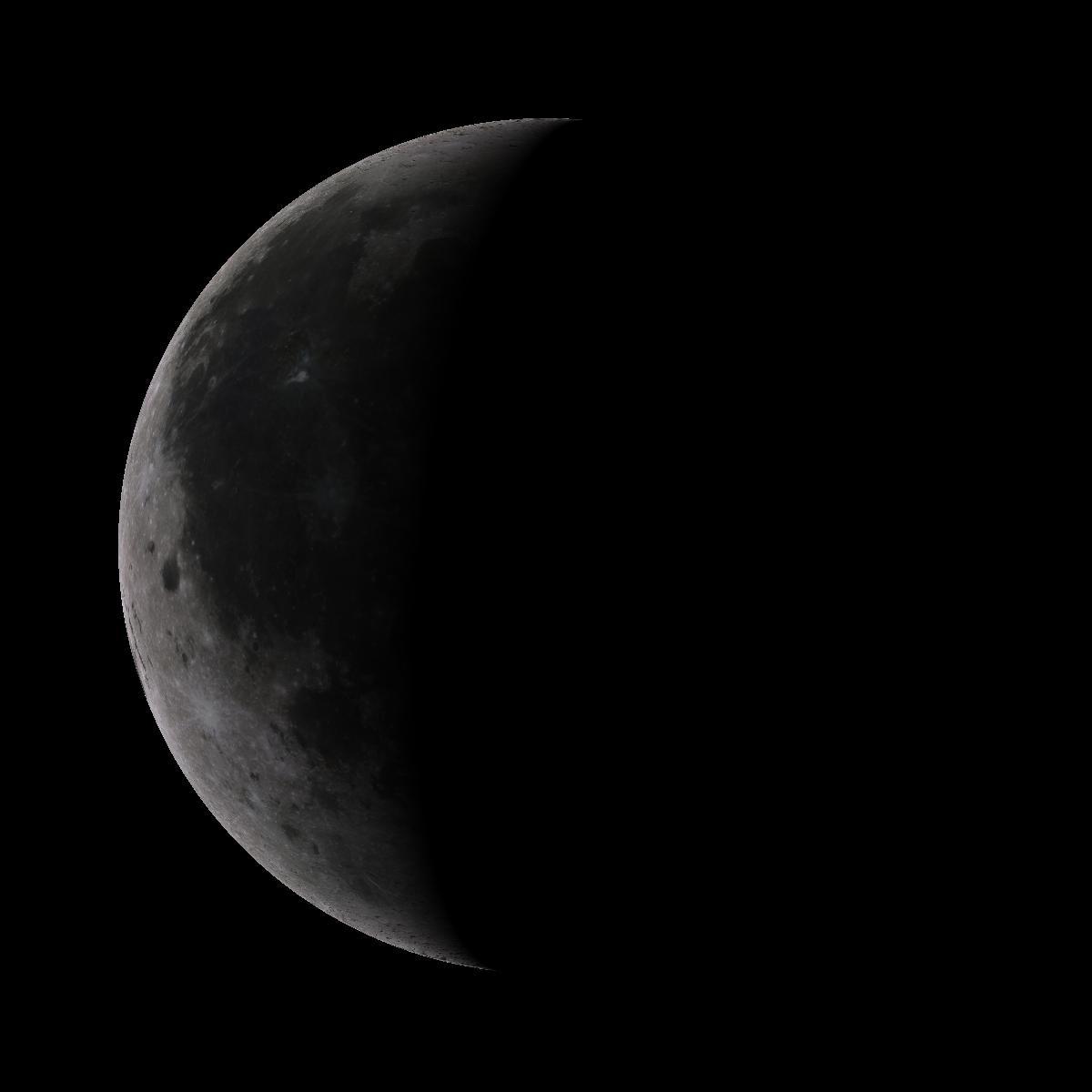 Lune du 25 aout 2019