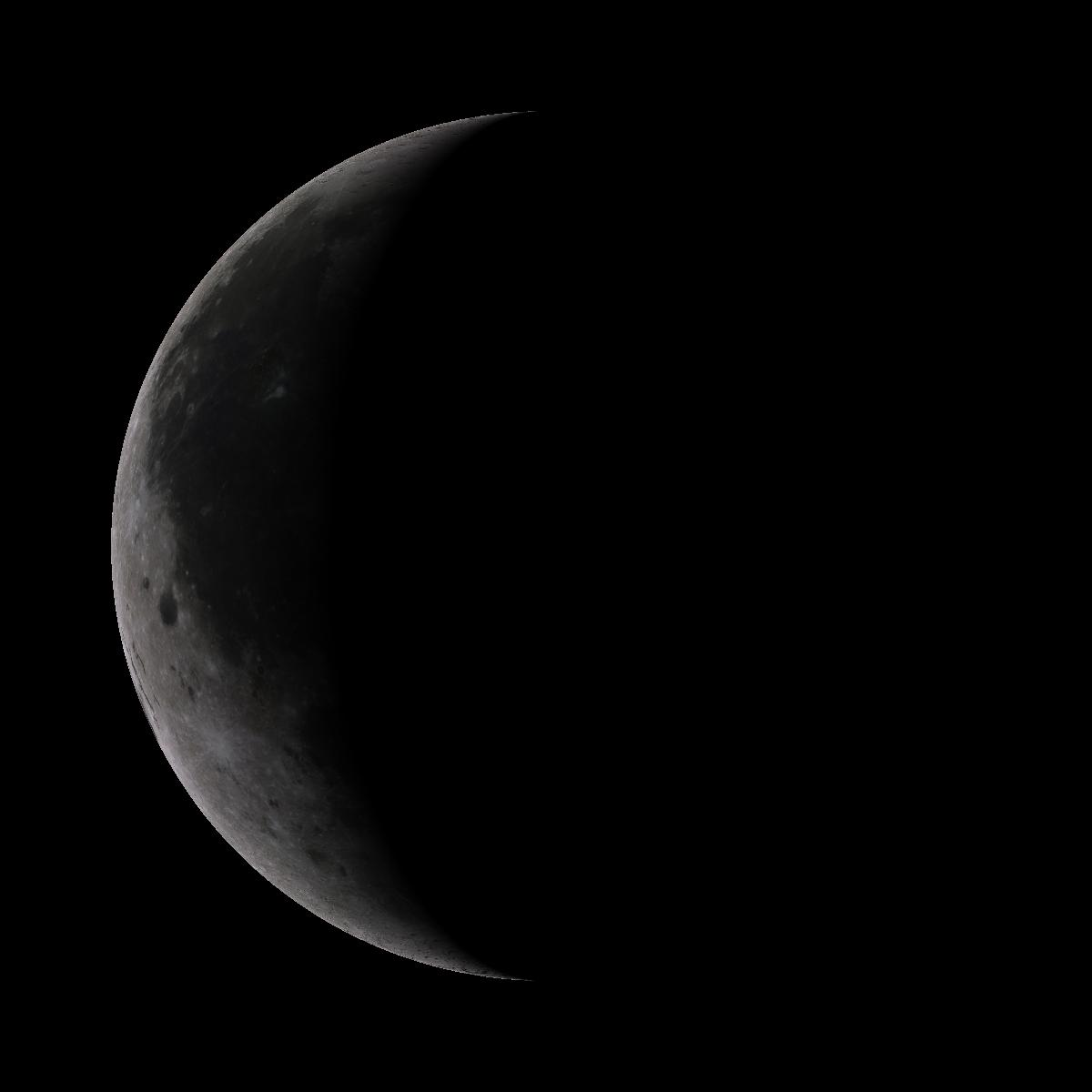 Lune du 26 aout 2019