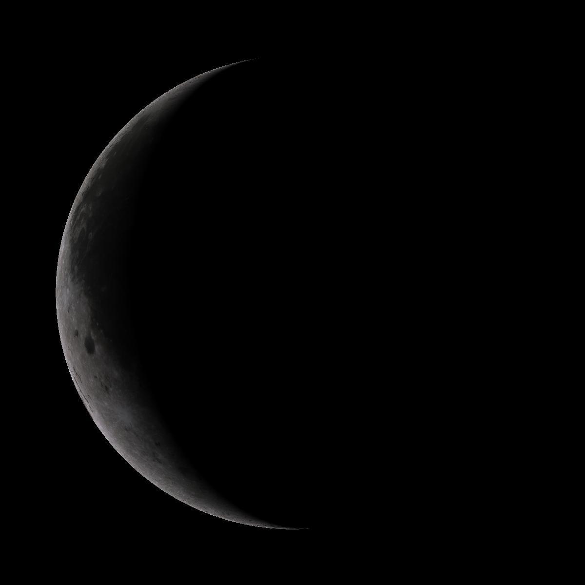 Lune du 27 aout 2019