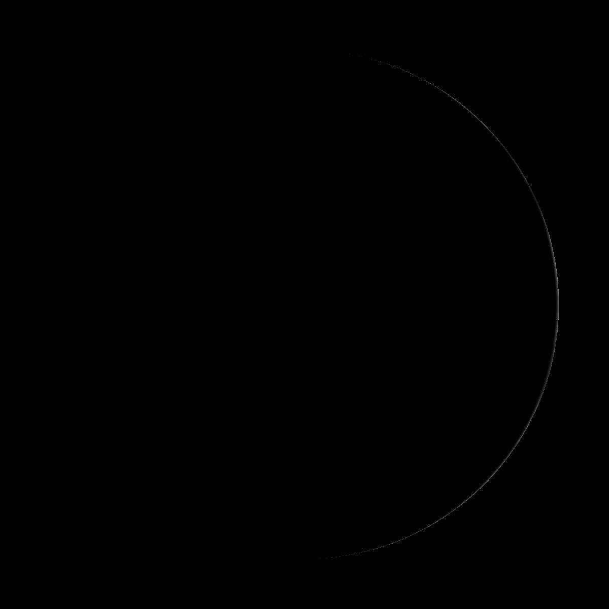 Lune du 31 aout 2019