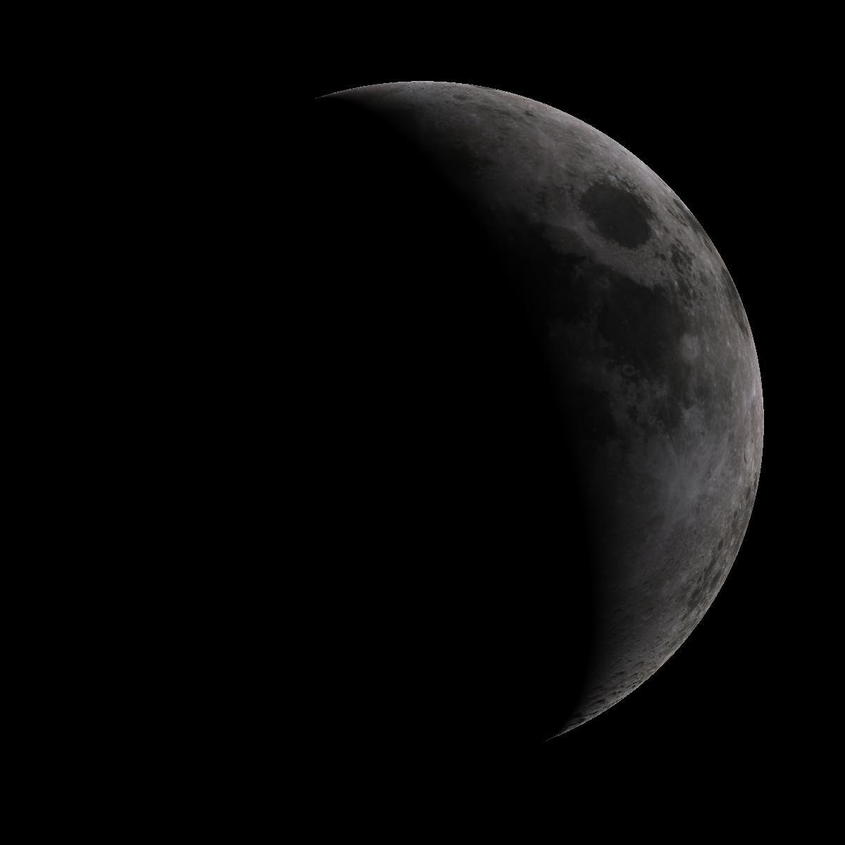 Lune du 6 aout 2019