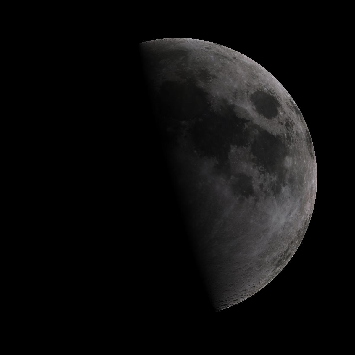 Lune du 8 aout 2019