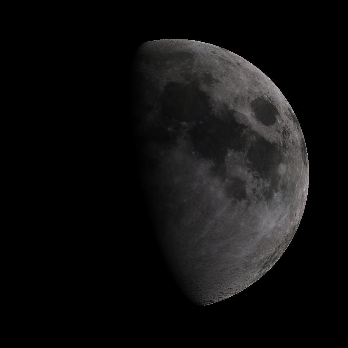 Lune du 9 aout 2019