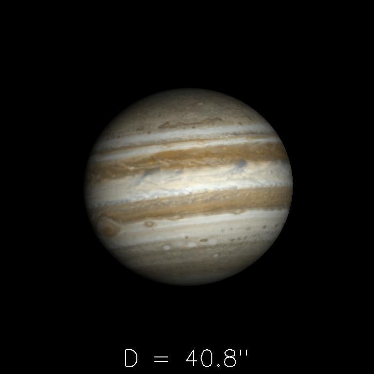 Jupiter le 16 août 2019