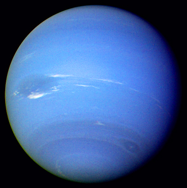 Neptune part Voyager 2 1989