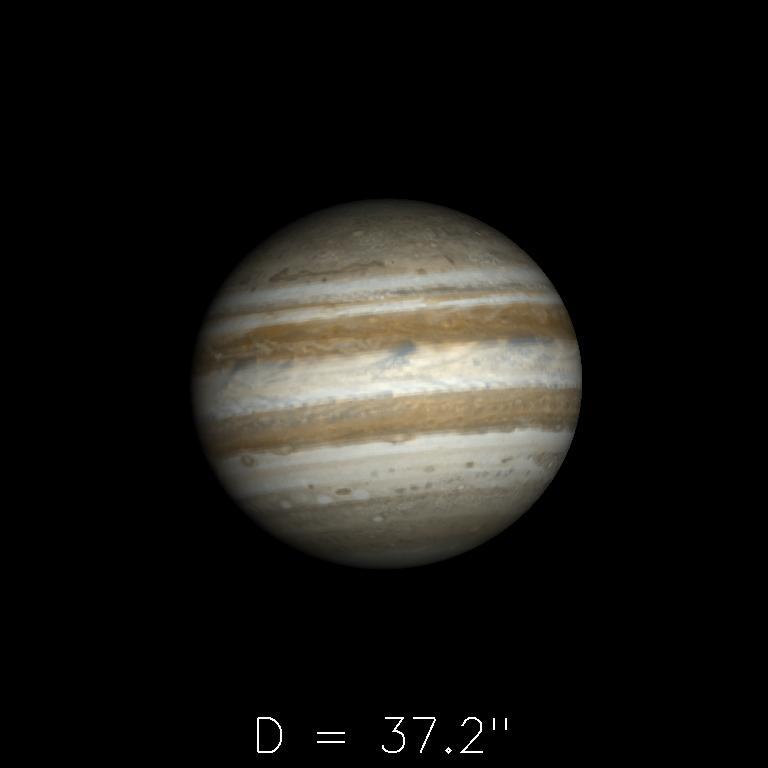 Jupiter le 16 septembre 2019