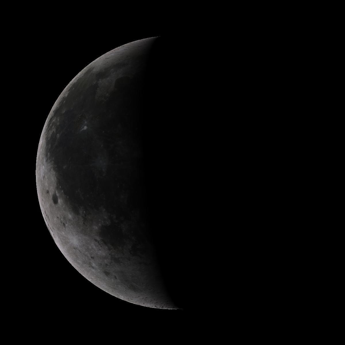Lune du 23 septembre 2019