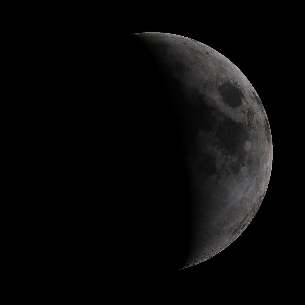 Lune du 5 septembre 2019
