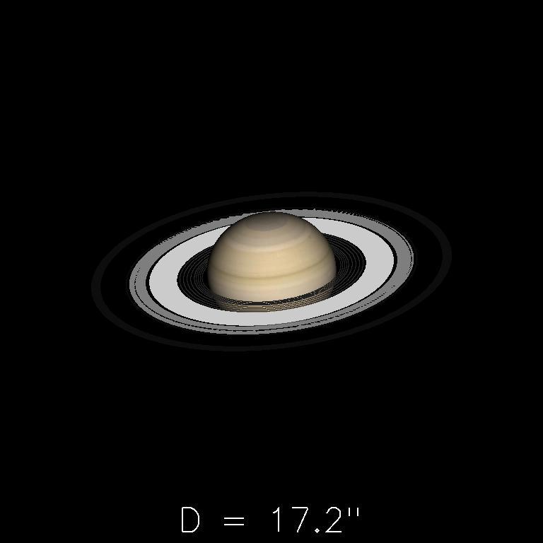 Saturne le 16 septembre 2019