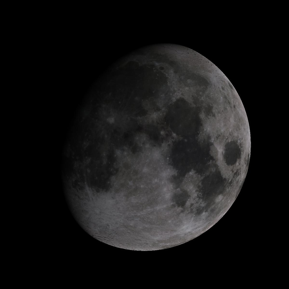 Lune du 10 octobre 2019