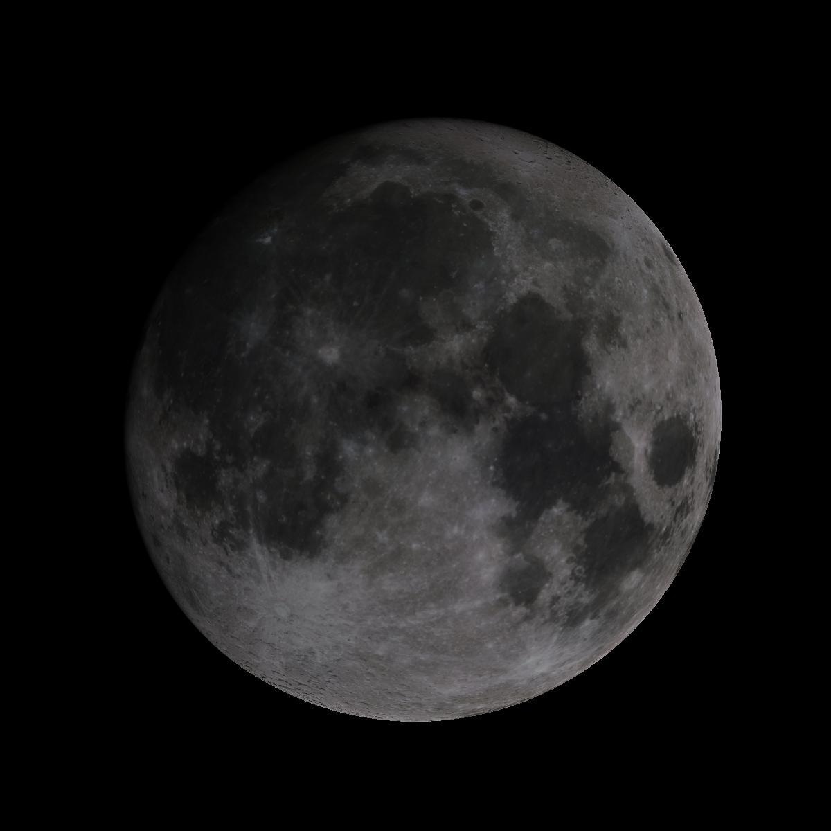 Lune du 12 octobre 2019