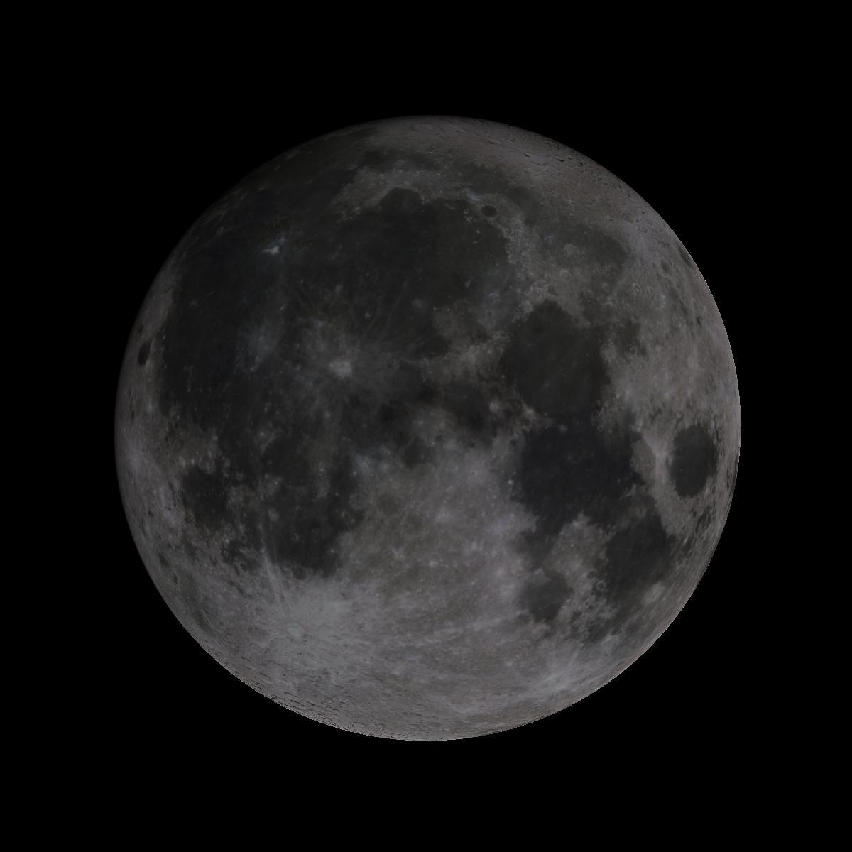 Lune du 13 octobre 2019