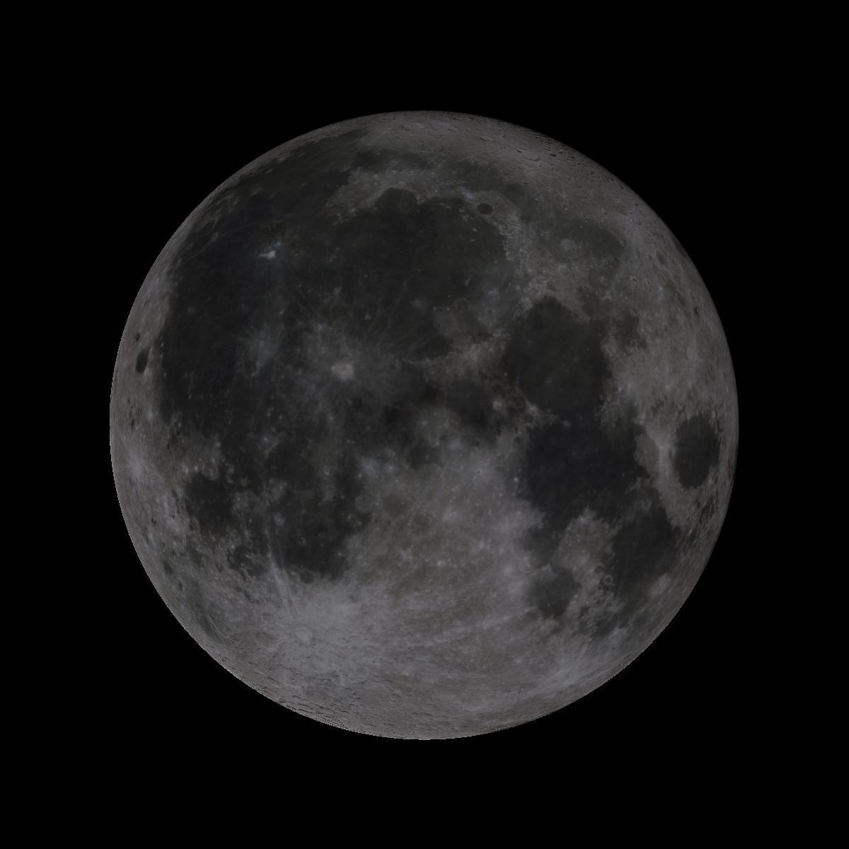 Lune du 14 octobre 2019