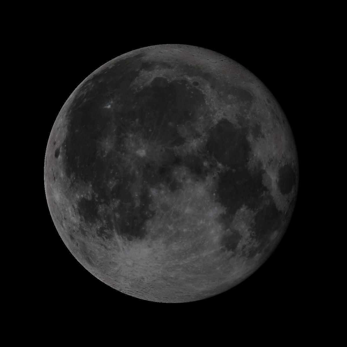 Lune du 15 octobre 2019